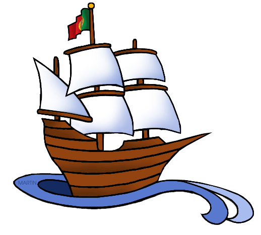 explorers clip art by phillip martin portuguese ship rh explorers phillipmartin info ships clipart ships clipart black and white