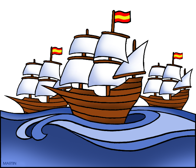 explorers clip art by phillip martin spanish ships rh explorers phillipmartin info ships clipart black and white ship clipart images